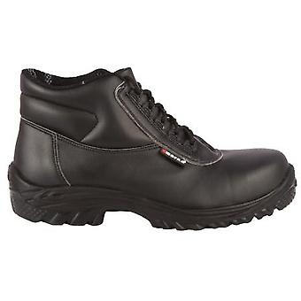 Toesavers Black Lorica Safety Boot 9404 with Dual Density Sole & Midsole