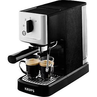 Espresso machine Krups Calvi Silver, Black 1460 W incl. frother nozzle