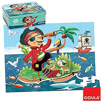 Goula Pirate Puzzle 35 Pieces (Toys , Boardgames , Puzzles)
