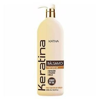 Kativa Keratin Balsamo 1000 Ml. (Woman , Hair Care , Conditioners and masks)