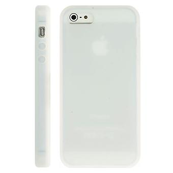 Soft Silicone case for iPhone 5 (white)