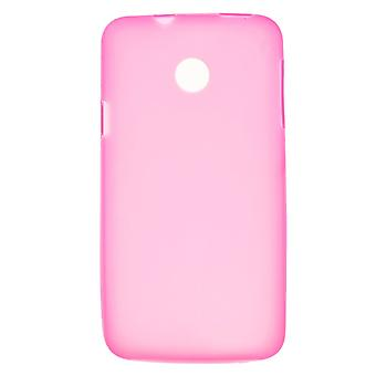 TPU rubber mate cover for Huawei Ascend Y330 (Pink)