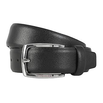 OTTO KERN belts men's belts leather belt black 1165