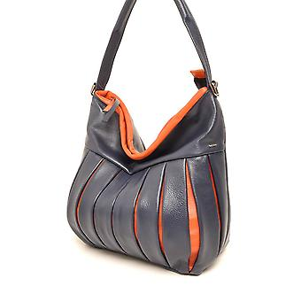 THEY are ¼ rich Berba pouch 305-610 Navy/Orange