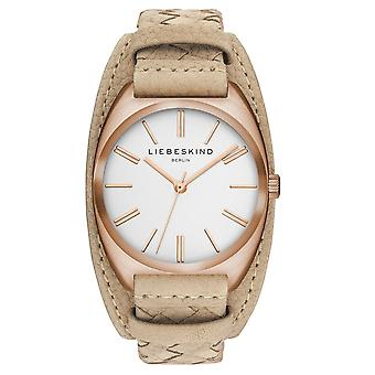 LIEBESKIND BERLIN ladies watch wristwatch leather LT-0045-LQ