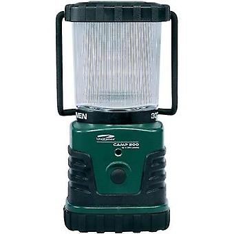 LED Camping lantern LiteXpress Camp 200 battery-powered 862 g Green, Black LXL902008