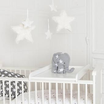 Vikle styret for baby bed 85x50cm