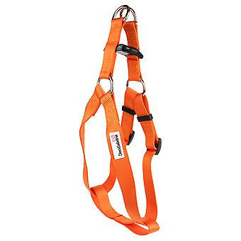 Doodlebone Bold Nylon Harness Orange Extra Large 25mm X80-90cm