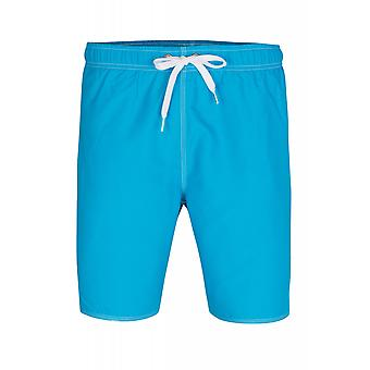 arena of fundamentals solid Bermuda shorts mens Swimshorts blue 1B 369/85