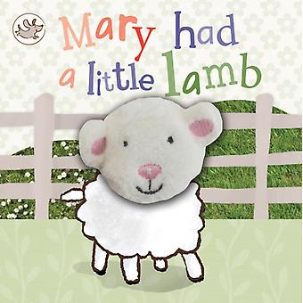Little Learners: Finger Puppet Book 'Mary Had a Little Lamb' (Hardcover) by Parragon Books Ltd