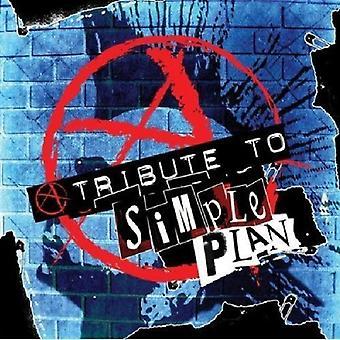 Hyldest til en Simple Plan - hyldest til en Simple Plan [CD] USA importerer