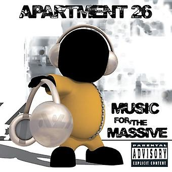 Apartment 26 - Music for the Massive [CD] USA import