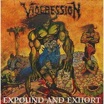 Viogression - udlægge & Exhort [CD] USA importerer