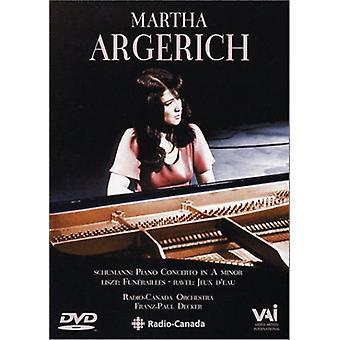 Martha Argerich - Con Pno/Jeux Deux/Funnerailles [DVD] USA import