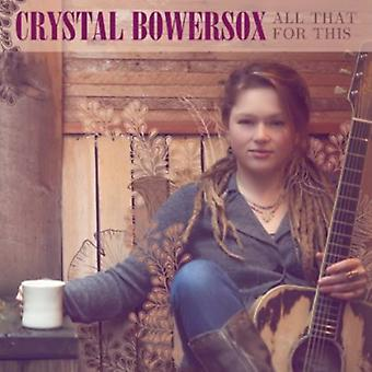 Crystal Bowersox - All That for This [CD] USA import