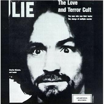 Charles Manson - kærlighed & Terror kult [CD] USA import