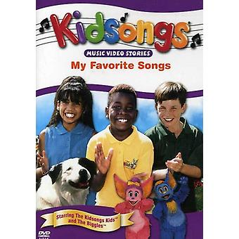 Kidsongs - min favoritsange [DVD] USA importerer