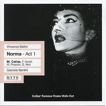 Callas/Santini - Vincenzo Bellini: Norma - akt 1 [CD] USA import