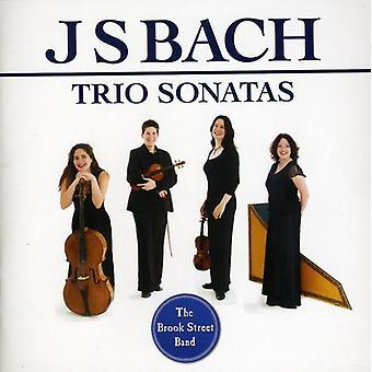 J.S. Bach - Bach: Importación trío Sonatas [CD] Estados Unidos