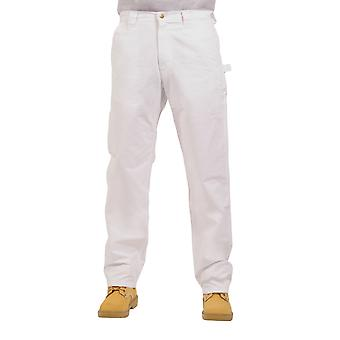 KEY White Work Trousers - Premium Lightweight Work Pants