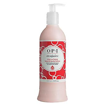 OPI Avojuice Hand- und Bodylotion-Cran & Berry