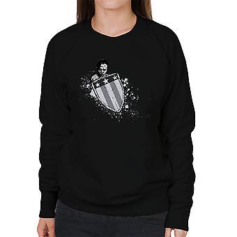 Suppleant begyndelsen Captain America kvinders Sweatshirt