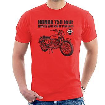 Haynes Besitzer Werkstatt Handbuch Honda 750 vier Herren T-Shirt