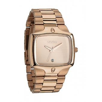 Nixon Player Uhr - alle Rose Gold