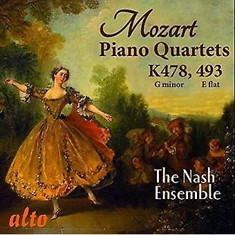Nash Ensemble - Mozart: The Two Piano Quartets K478 & K4 [CD] USA import