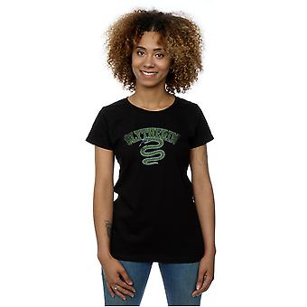 Harry Potter Women's Slytherin Sport Emblem T-Shirt