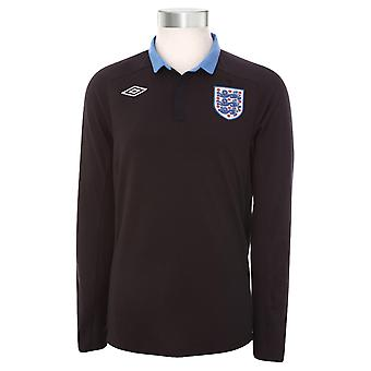 2011-12 England Euro 2012 L/S Away Shirt (Kids)