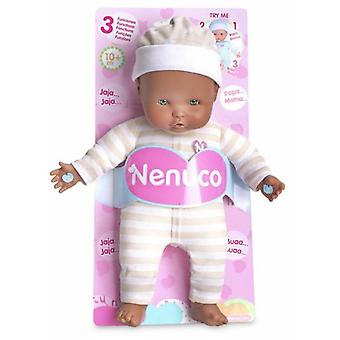 Nenuco Soft Beige Doll With 3 Functions