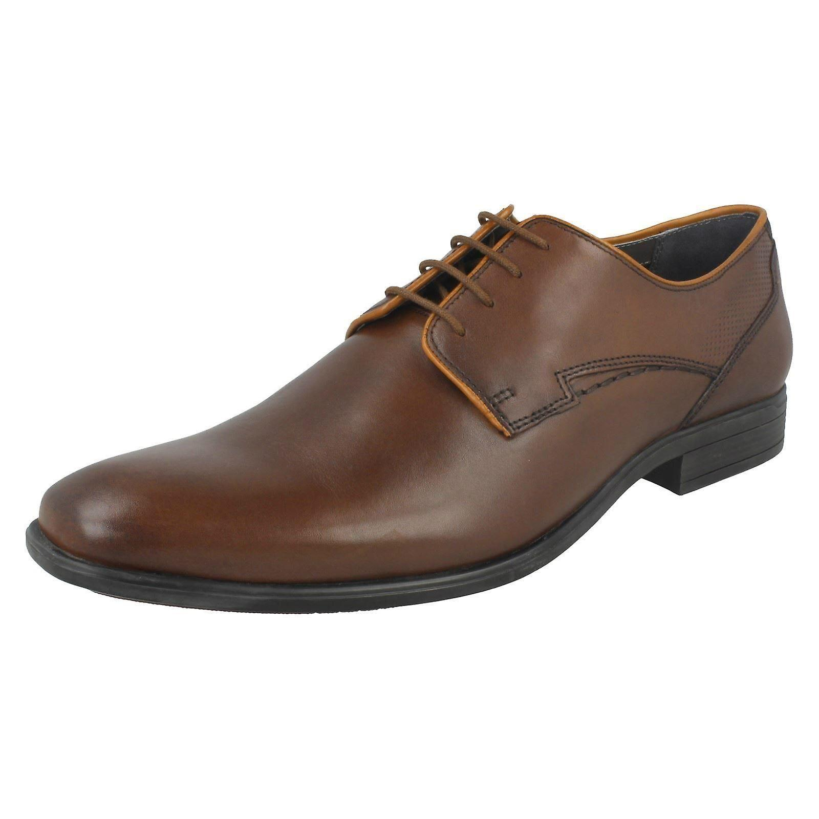 Mens Hush Puppies chaussures formelles Smart Kane Maddow