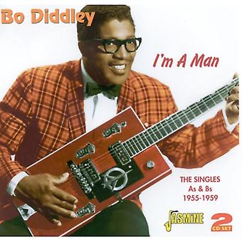 I'm A Man - The Singles As & Bs 1955-1959 [ORIGINAL RECORDINGS REMASTERED] by Bo Diddley