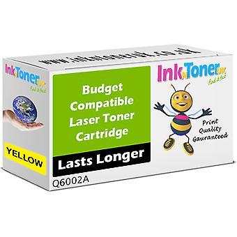 Kompatibla 124A gul Q6002A patron för HP Colour LaserJet 2600