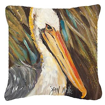 Pelican lookin West Canvas Fabric Decorative Pillow