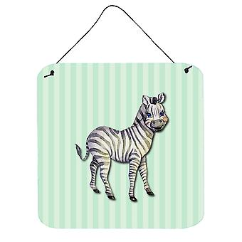Carolines Treasures  BB7143DS66 Zebra Wall or Door Hanging Prints