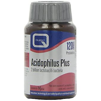 Quest Acidophilus Plus 2 billion lactic bacteria, 120 Caps (Vegan)