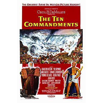 The Ten Commandments Movie Poster (11 x 17)