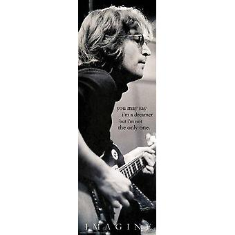 John Lennon - soñador - puerta cartel Poster Print