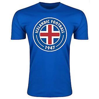 Island Core Logo T-Shirt (blau)