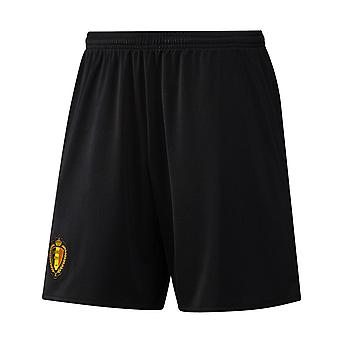 2016-2017 Belgium Away Adidas Football Shorts (Black)