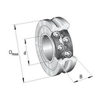 Ina Lfr5201-10-2Rs-Rb Track Roller With Profiled Outer Ring