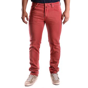 Jacob Cohen mens MCBI160056O red cotton of jeans
