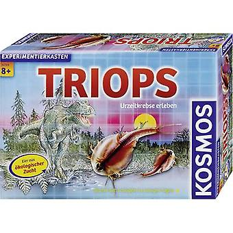 Science kit Kosmos Triops - Urzeitkrebse erleben 633028 8 years and over
