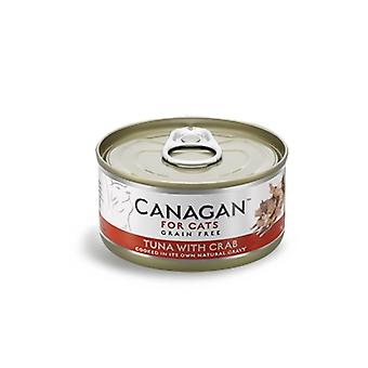Canagan 75g Tuna with Crab Cat Wet Food Can - 75g Can