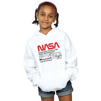 NASA Girls Classic Space Shuttle Hoodie