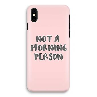 iPhonegeval X volledige Print - ochtend persoon
