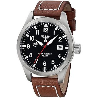 KHS watches mens watch Airleader steel KHS. AIRS. LB5