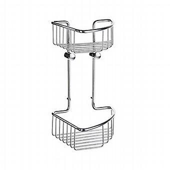 Sideline Soap Basket Corner 2 Level DK1021